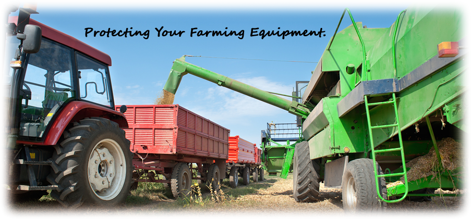 Harvesting Grain - Protecting Your Farming Equipment.